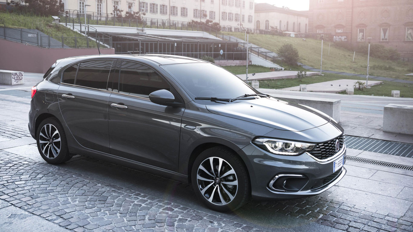 Turkey: Fiat Egea (2,907 registrations)