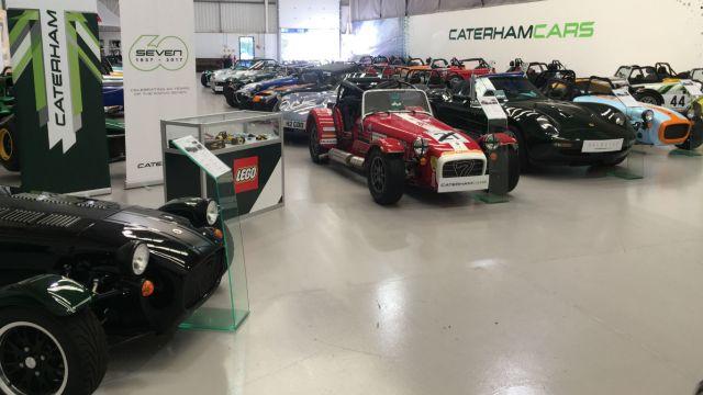 Seventh heaven: inside Caterham Cars