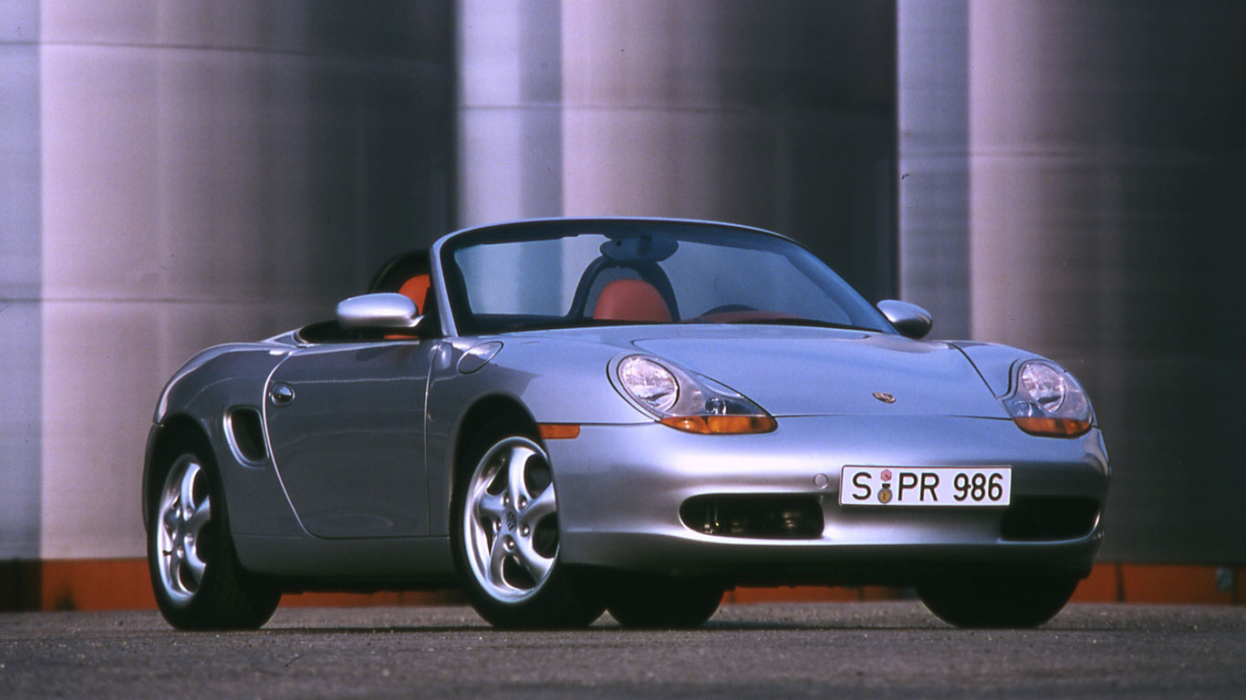 Porsche Boxster launched in 1996