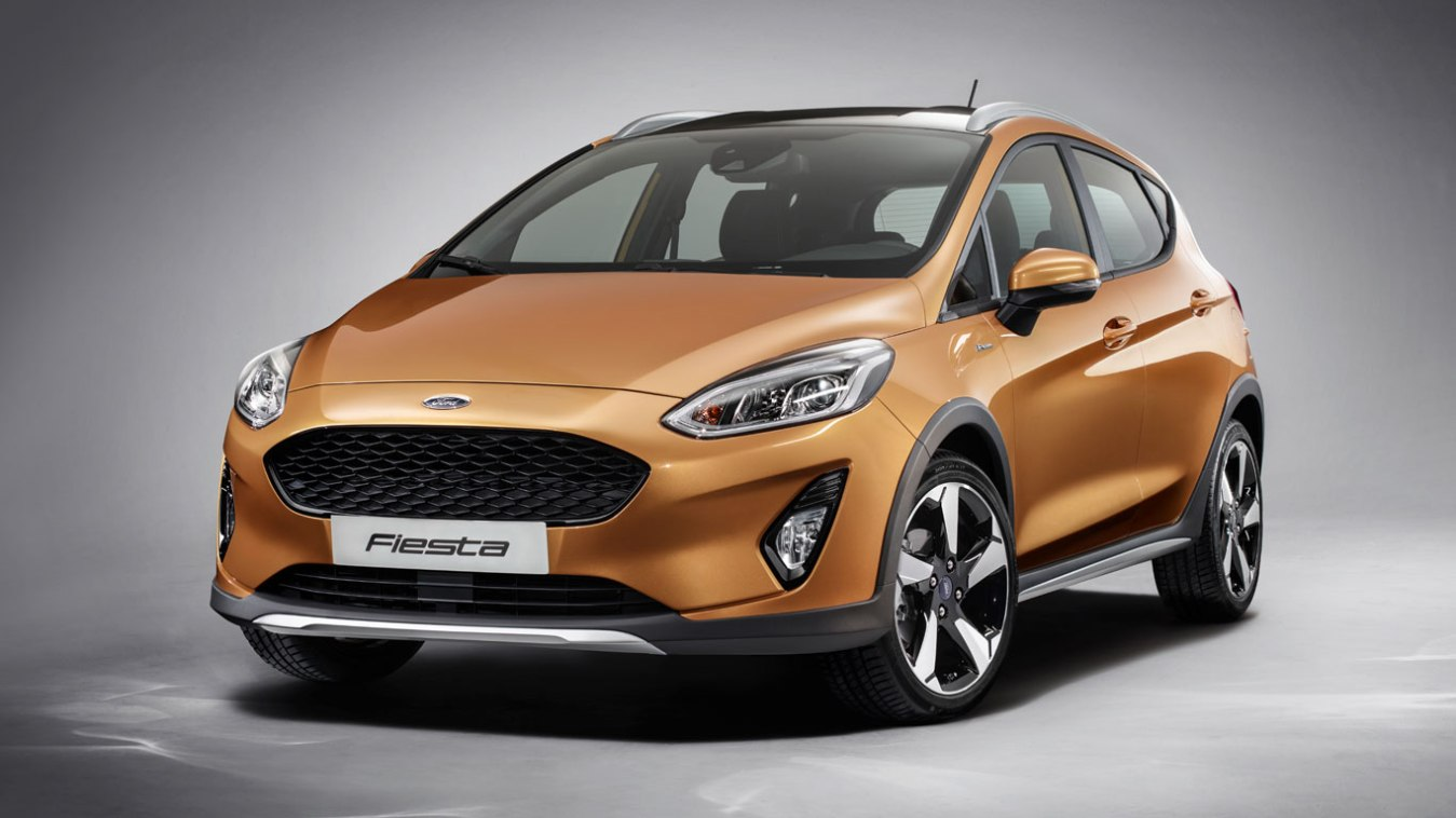 There'll also be a jacked-up Ford Fiesta Active crossover