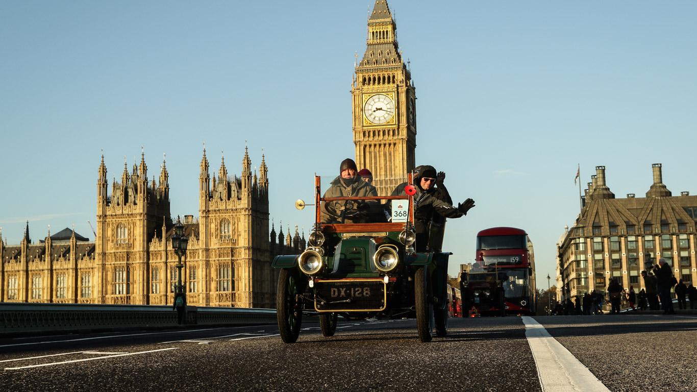 2016 London to Brighton Veteran Car Run: in pictures