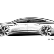 Volkswagen Arteon teased ahead of Geneva Motor Show debut