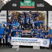 Volkswagen WRC champions