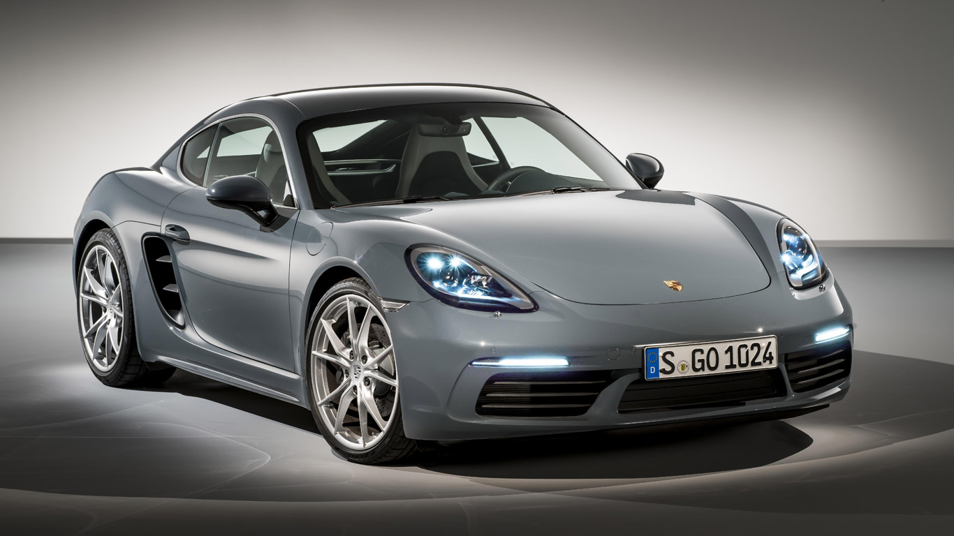 April: Porsche 718 Boxster and Cayman get turbo power