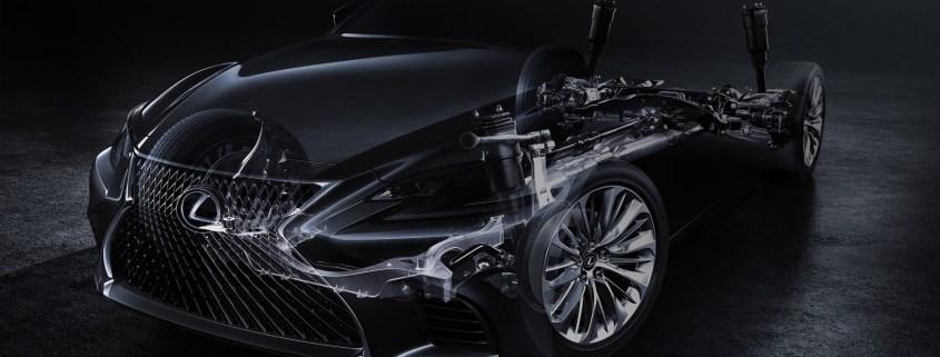 2018 Lexus LS teased: luxury saloon will rival Mercedes S-Class