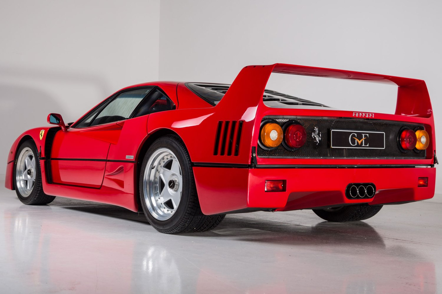 Ferrari F40 owned by Eric Clapton