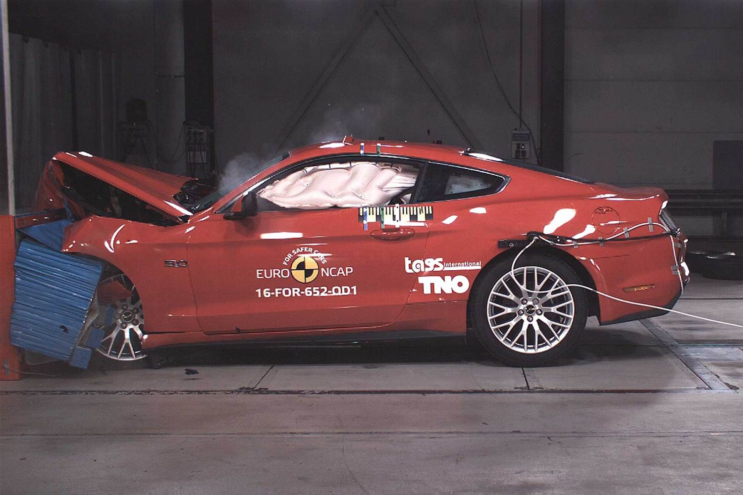Ford Mustang slammed for two star Euro NCAP safety rating.
