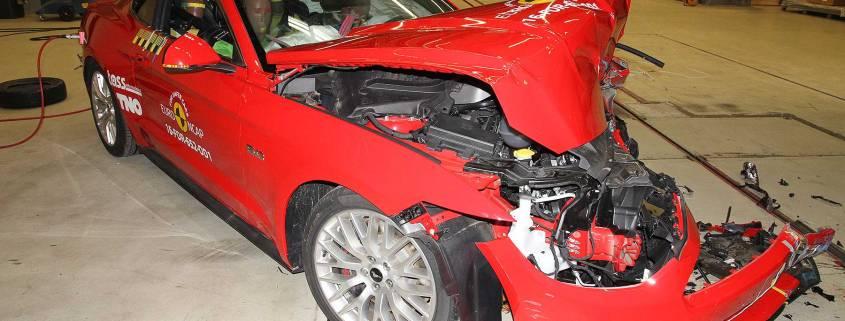 Ford Mustang slammed for two star Euro NCAP crash test