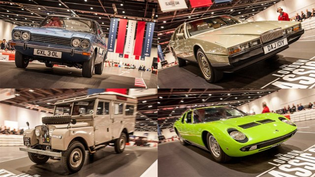 London Classic Car Show