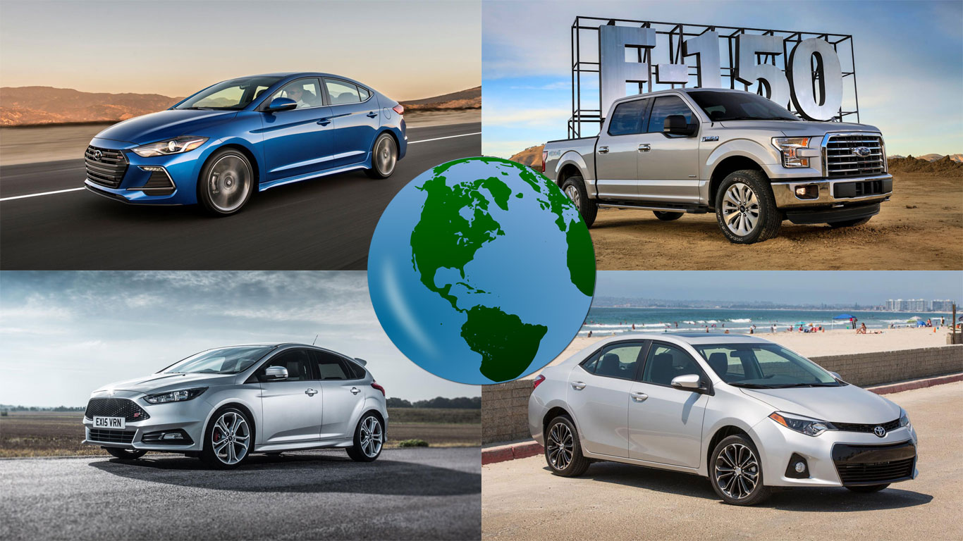 Revealed: the world's best-selling cars of 2016