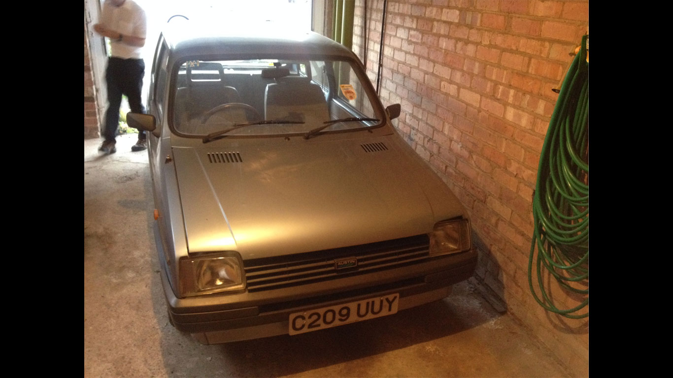 Barn-find cars on show in Birmingham