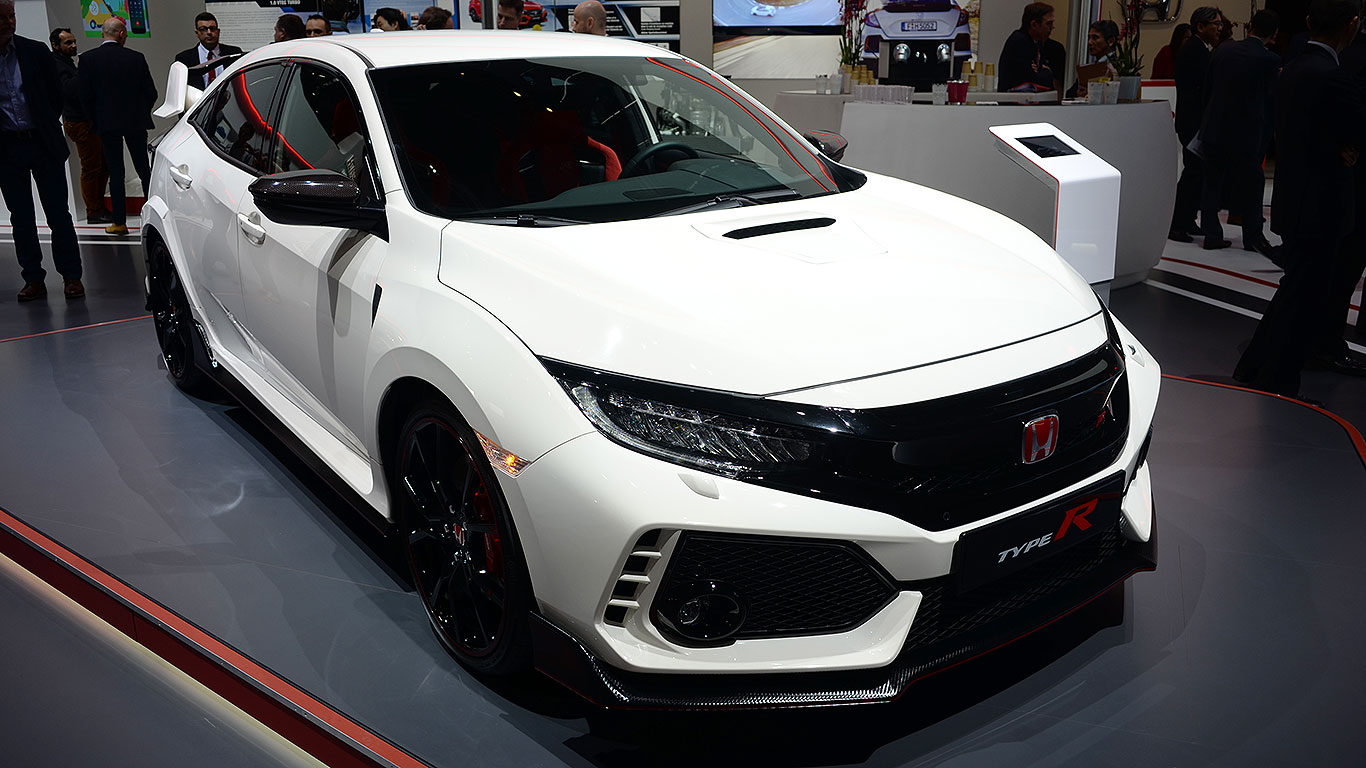 new honda civic type r revealed in geneva motoring research. Black Bedroom Furniture Sets. Home Design Ideas