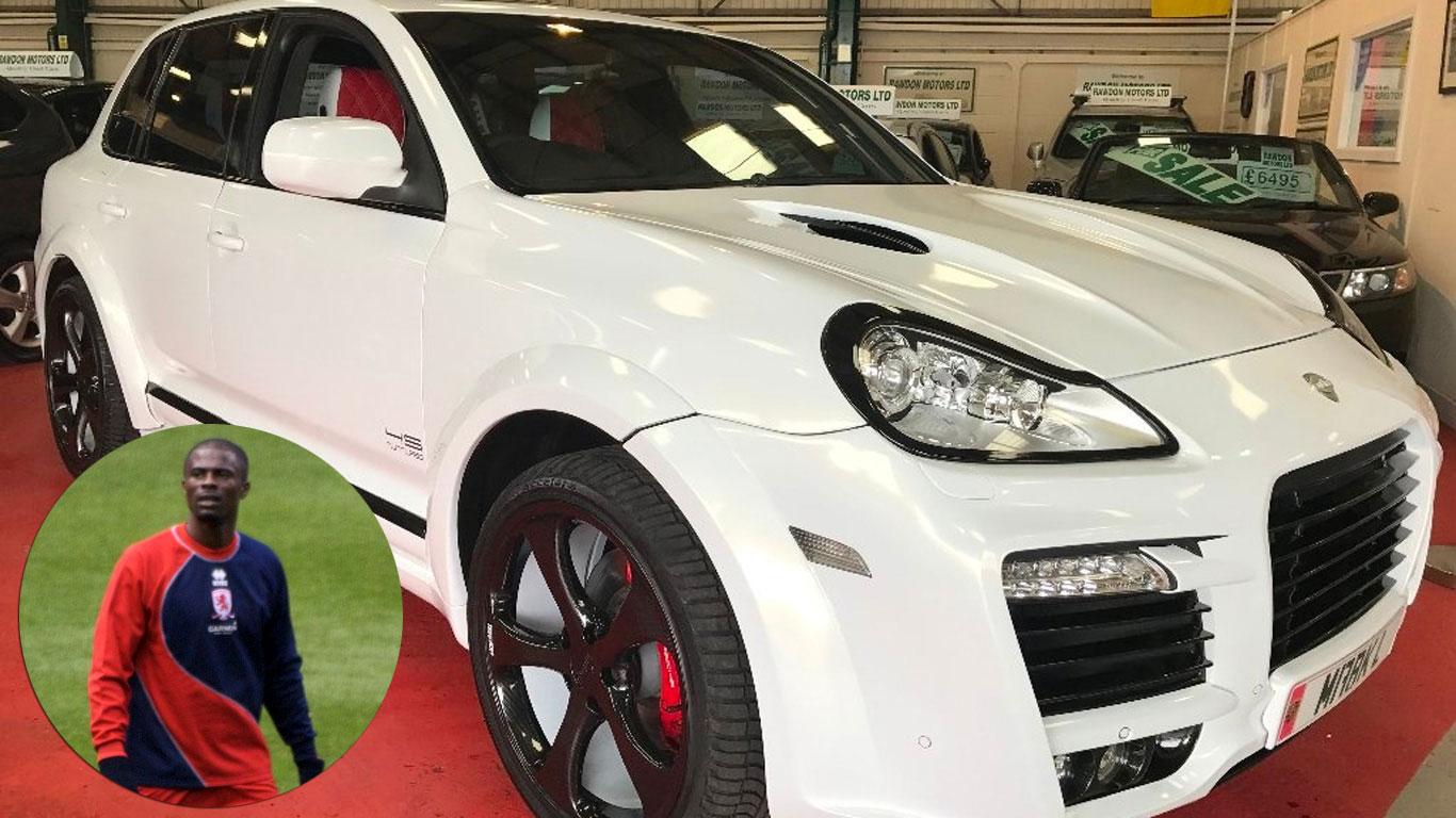 George Boateng: Porsche Cayenne