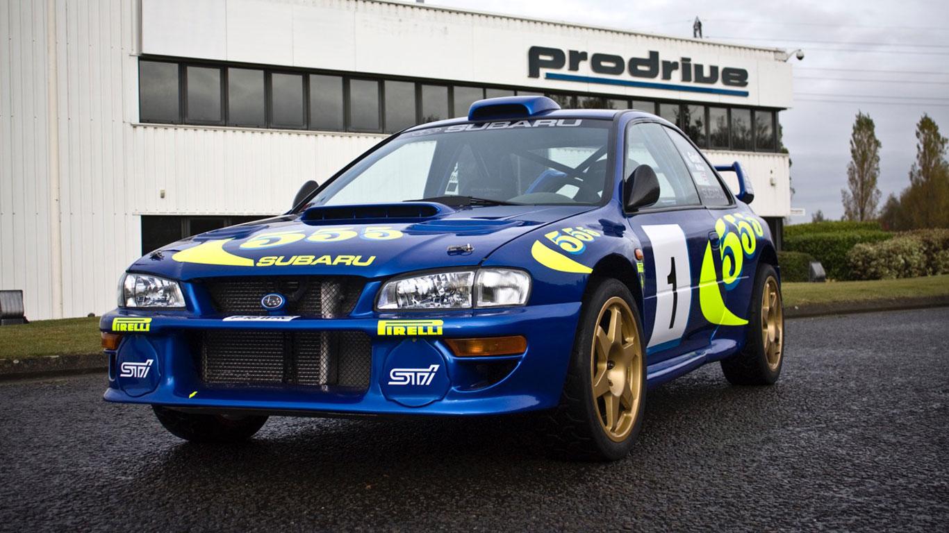 Colin McRae's iconic WRC Subaru for sale