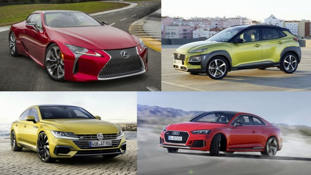 35 hot new cars still to come in 2017
