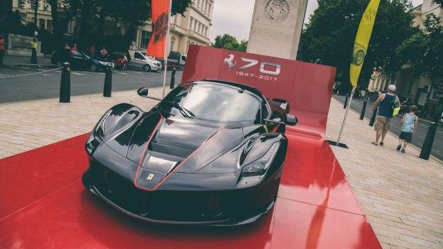 Ferraris take over London