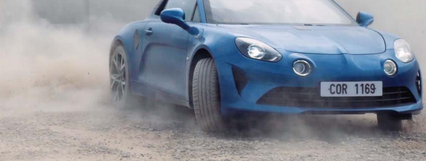 Alpine A110 gravel test