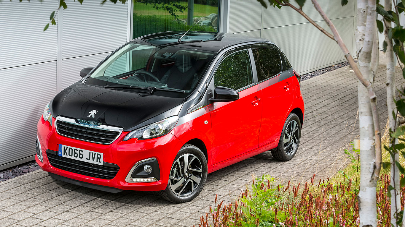 City car, winner: Peugeot 108