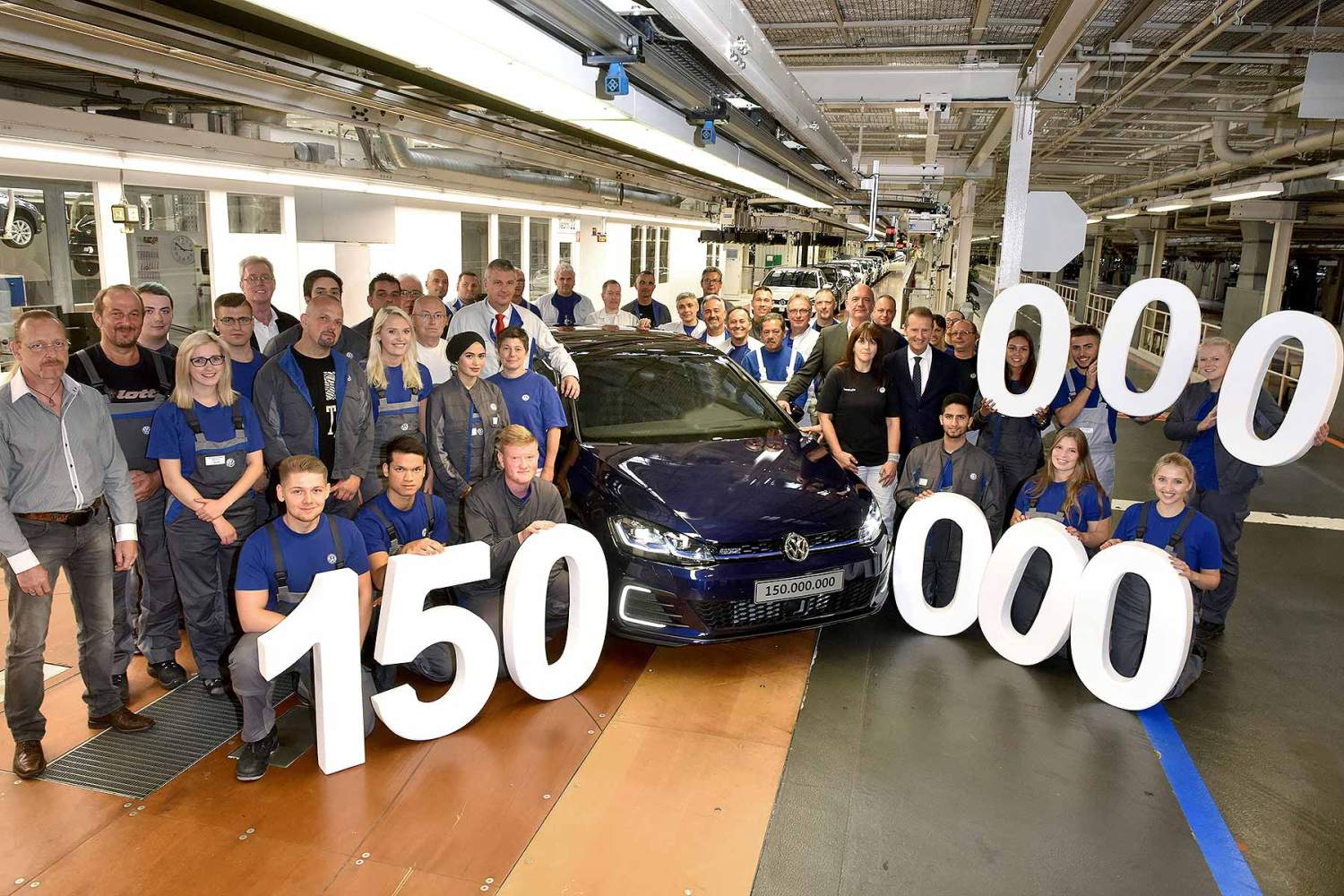 Volkswagen 150 million