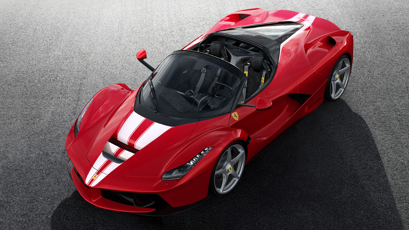 This unique LaFerrari Aperta is being auctioned for charity