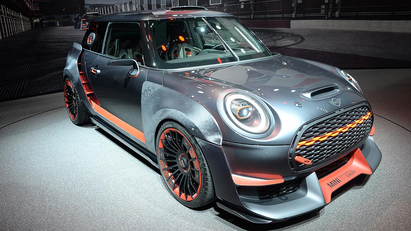 To The Extreme Meet The Mini John Cooper Works Gp Concept