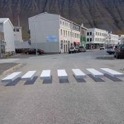 3D zebra crossings are being trialled in Iceland