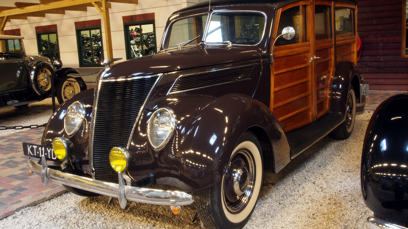 2 Woodie Smart 1937 To 1948 Ford Woodie Station Wagon Upper Tailgate Slider Arms