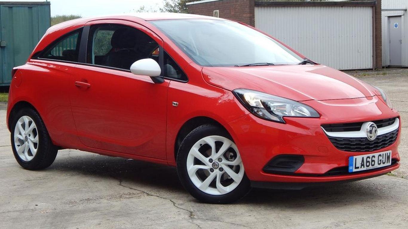 Vauxhall Corsa Sting: £7,495