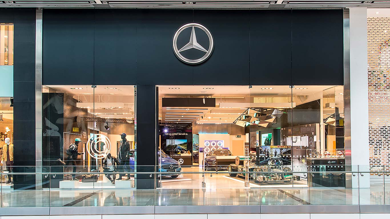 Mercedes-Benz Pop-Up Shop