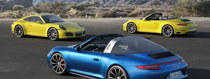 Drive a new Porsche every day for £1,500 per month