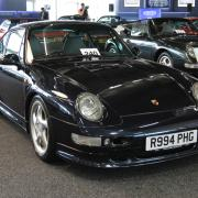 This old Porsche sold for more than £250k at auction