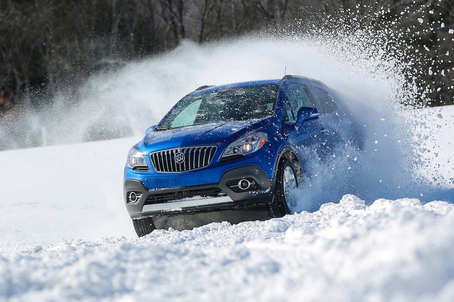 Winter driving safely