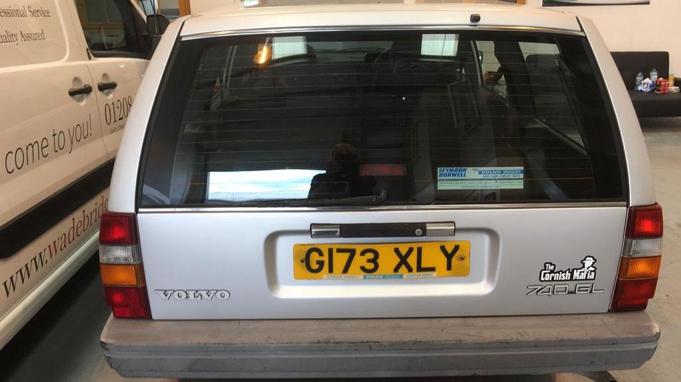 Volvo 740: £900