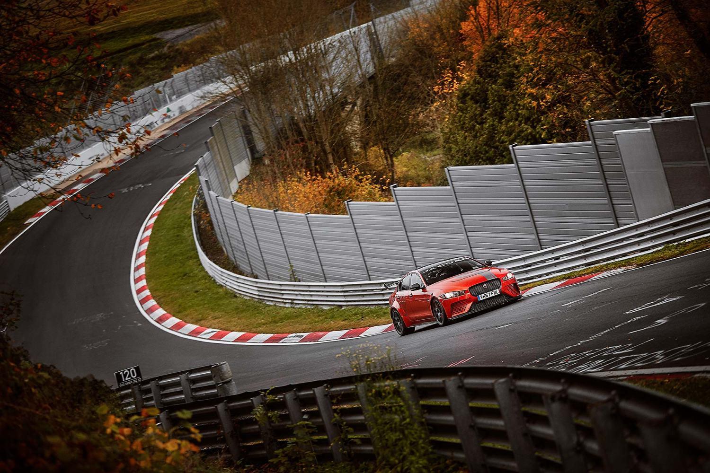 Jaguar XE SV Project 8 Nürburgring