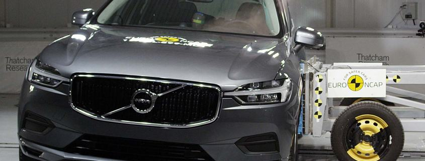 Volvo XC60 side crash test November 2017