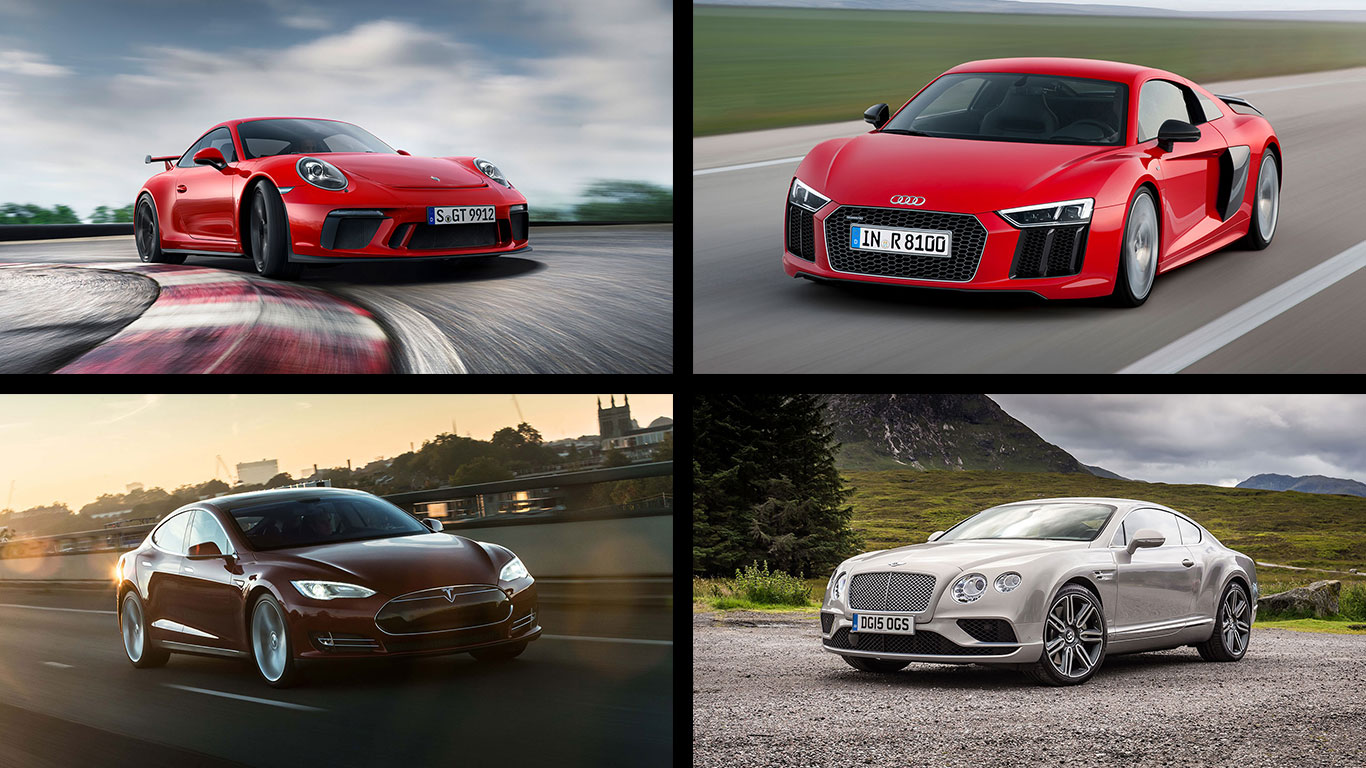 Supercar secrets: the top 10 exotics bought on finance