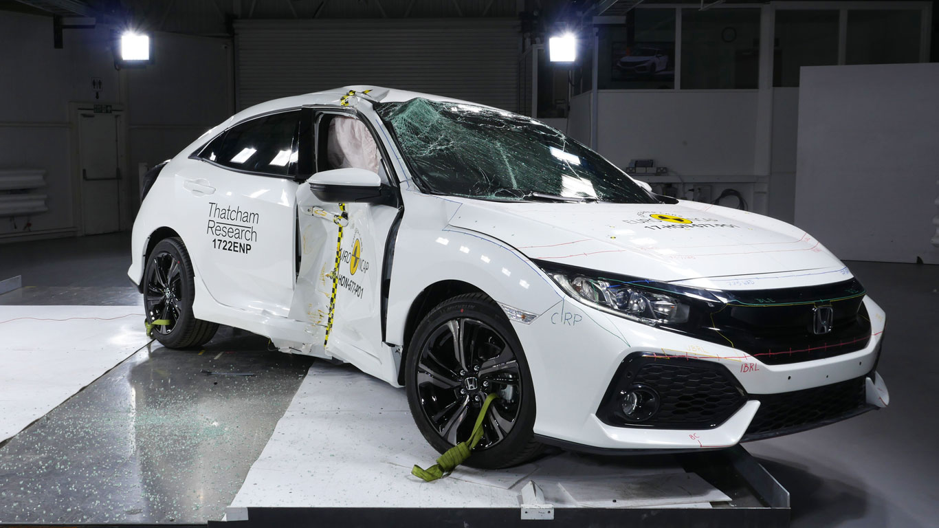 Cars are getting safer: latest NCAP crash test results revealed