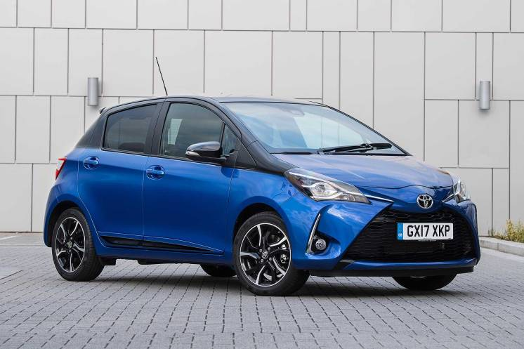 5 stars: Toyota Yaris