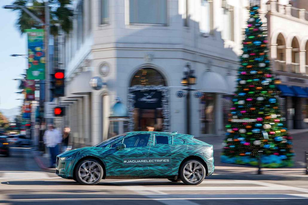 Jaguar to open I-Pace EV ordering in March 2018