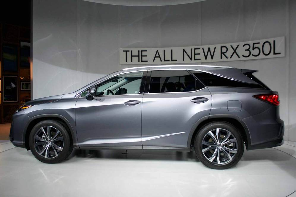 Lexus RXL LA Auto Show