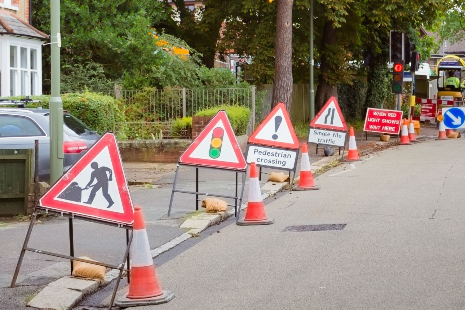 The government is spending £46m repairing potholes