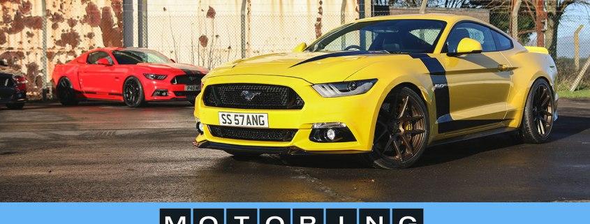 Modified Mustangs in action: Velgen Society UK
