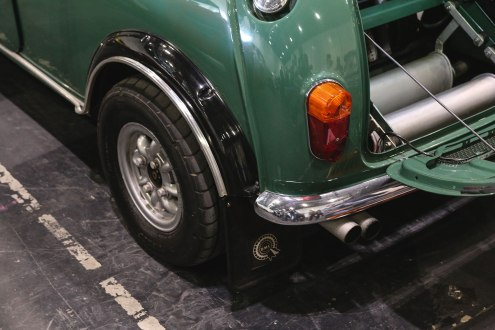 This twin-engined Mini is an early example of a 4x4 rally car