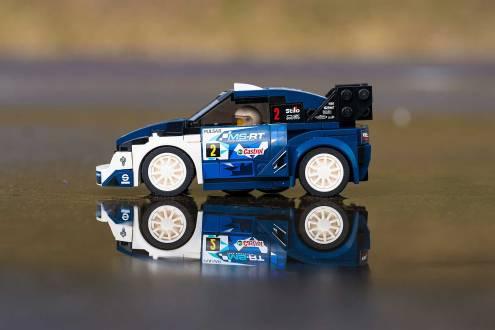 Ford Speed Champions Lego Fiesta WRC