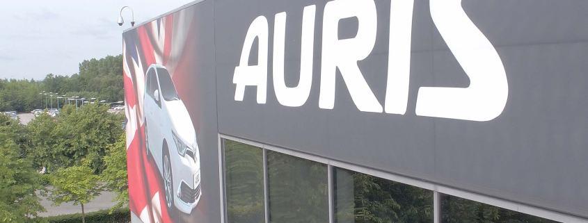 Toyota Auris built in Burnaston