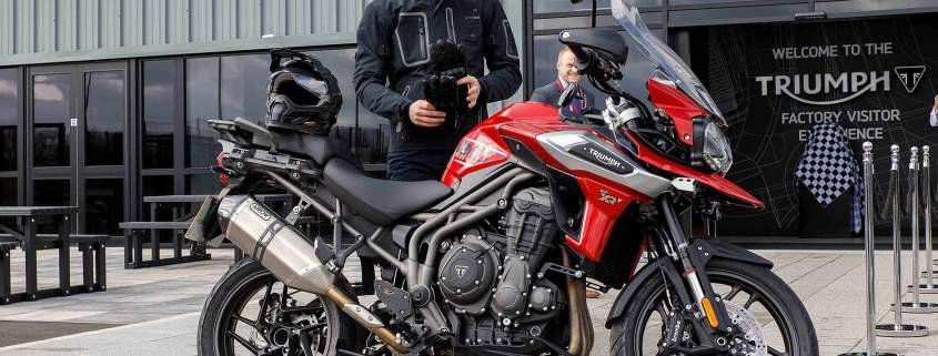 Triumph Motorcycles and HRH the Duke of Cambridge