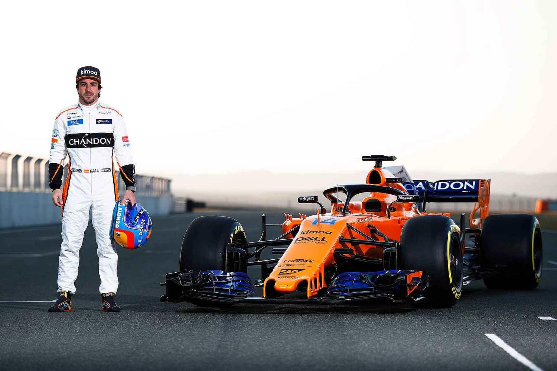 Fernando Alonso 2018 McLaren-Renault