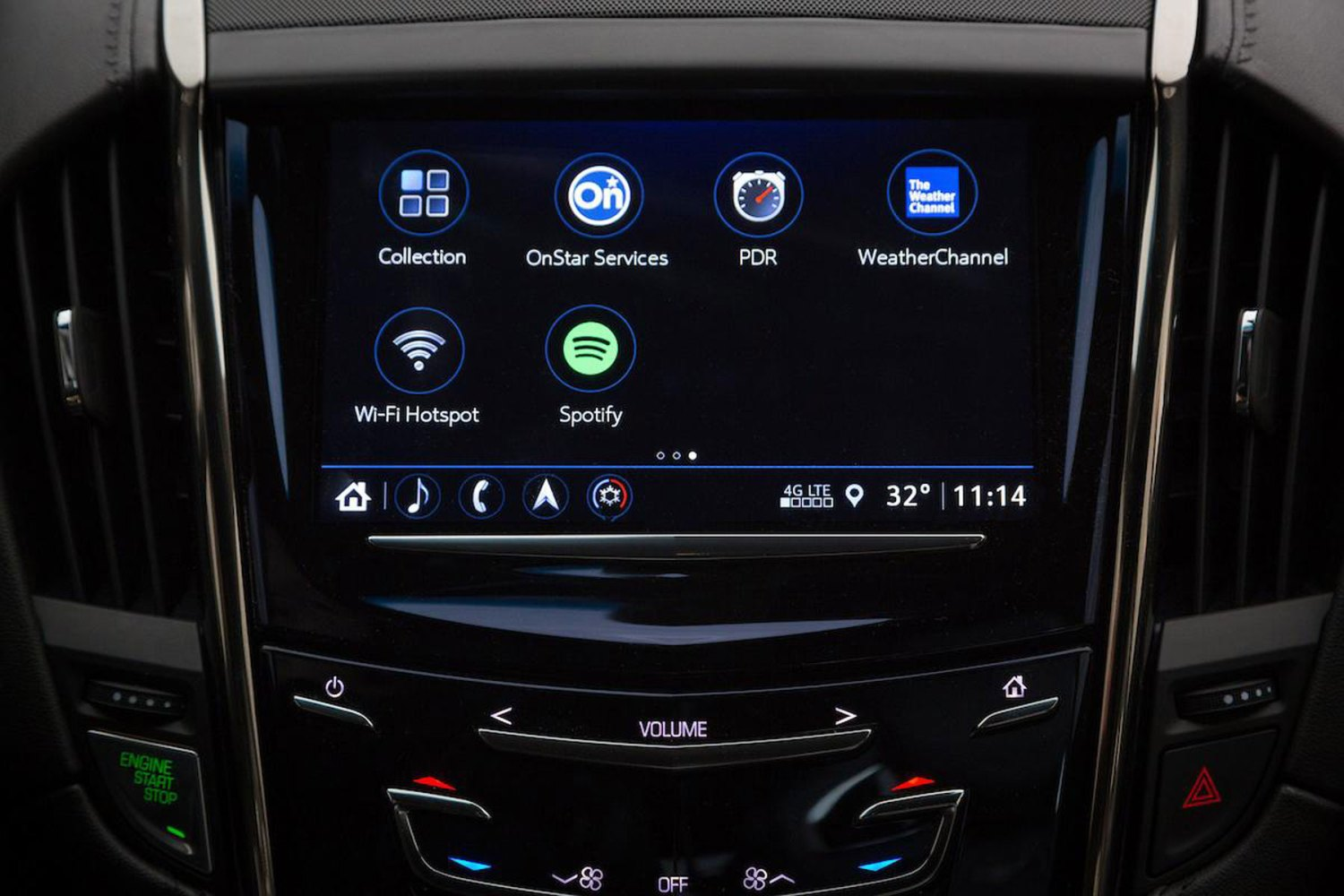 Spotify in Cadillac