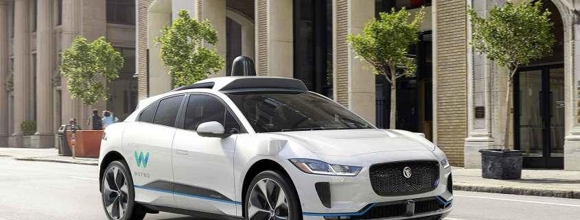 Waymo Jaguar I-Pace self-driving EV