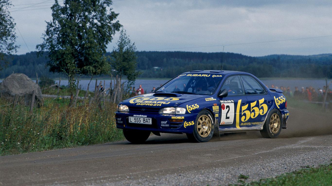 1993 Subaru Impreza 555 Group A